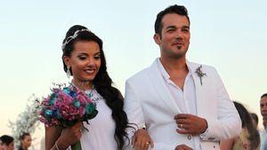Magna Cavalcanti und Daniel Lopes bei ihrer Hochzeit