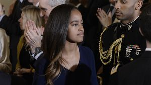 Star-Praktikantin: Malia Obama goes to Hollywood!