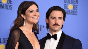 Mandy Moore und Milo Ventimiglia bei den Golden Globes