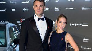 Manuel Neuer und Nina Weiss in Berlin im November 2016
