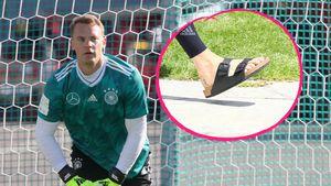 Verstecktes Tattoo: Manuel Neuer hat Farbe unter der Haut!