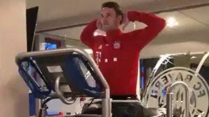 Hoffnung auf WM? Manuel Neuer trainiert 1. Mal ohne Krücken!