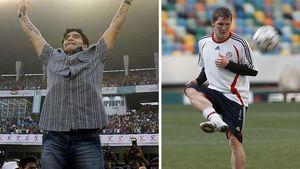 """Maradona: """"Bist du nervös, Schweinsteiger?"""""""