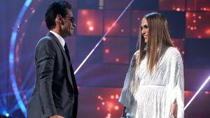 Marc Anthony und Jennifer Lopez beim gemeinsamen Auftritt