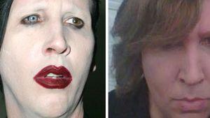 Kaum zu erkennen: Marilyn Manson ohne Make-up!