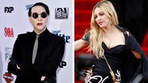 Madonna und Marilyn Manson