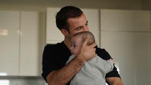 Groß geworden! Mario Götze teilt ein neues Vater-Sohn-Foto