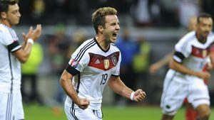 Mario Götze, deutscher Nationalspieler