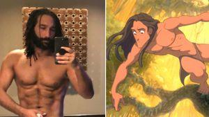 """Let's Dance""-Ur(wald)gestein: Massimo Sinató wird zu Tarzan"
