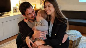 Raffiniert: Cathy Hummels überrascht mit süßem Family-Bild