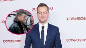 Vokuhila-Alarm! Matt Damon mit Retro-Haarschnitt unterwegs