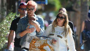 Süßer Family-Trip: Hilary Duff & Freund mit Baby on Tour