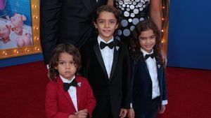 """Matthew McConaughey mit seiner Familie auf der Premiere des Films """"Sing"""""""