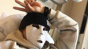 Mit Maske im Krankenhaus: Matthias Höhn wurde operiert!
