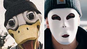 Ente oder blanko? Diese Maske finden Matze Höhns Fans besser