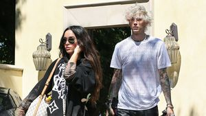 Machine Gun Kelly hat die Kids von Megan Fox kennengelernt!