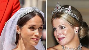 Wie Meghan: Auch Königin Máxima war ohne Vater bei Hochzeit