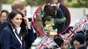 Herzlich! Meghan Markle knuddelt die Kinder in Birmingham