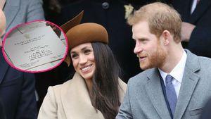 Meghan & Prinz Harry: So sehen ihre Hochzeitseinladungen aus