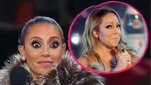 Mel B. und Mariah Carey
