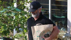 Mel Gibson beim Einkaufen: Barfuß und mit offenem Hosenstall