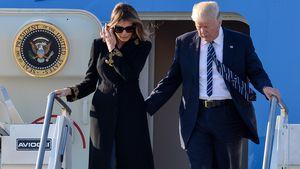 Melania Trump und Donald Trump in Rom