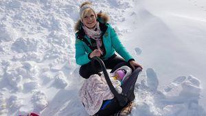Erster Schnee: Melanie Müller & Mia Rose auf der Piste!