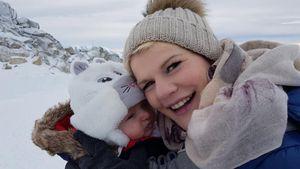 Trotz harter Baby-Kritik: Melanie Müller nimmt's mit Humor