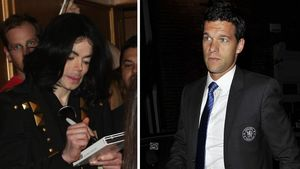 Michael Jackson und Michael Ballack