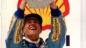 Heute vor 25 Jahren wurde Schumi zum ersten Mal Weltmeister
