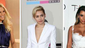 Kim Kardashian, Miley Cyrus und Michelle Hunziker