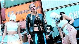 Heiße Moves: Michelle Hunziker dreht ihr eigenes Rap-Video