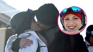Trotz Lippen-Bläschen: Michelle Hunziker küsst ihren Tomaso