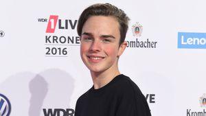 Mike Singer bei der Verleihung der 1Krone 2016 in Bochum