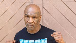 Muskulös: Mike Tyson (54) zeigt seinen durchtrainierten Body