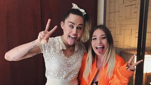 Miley Cyrus und Bibi Heinicke in New York