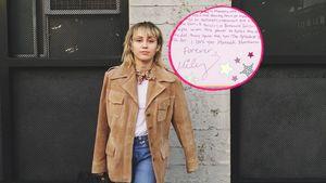 Nach 15 Jahren: Miley Cyrus schreibt Brief an Hannah Montana