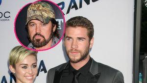 Liam Hemsworth, Miley Cyrus und Billy Ray Cyrus