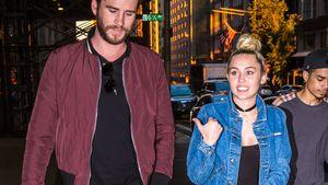 Liam Hemsworth und Miley Cyrus nach einem romantischen Dinner in New York