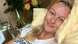 Hand gebrochen: GNTM-Girl Miriam Höller meldet sich nach OP