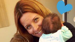Erstes Babyfoto: Moderatorin Miriam Lange zeigt Lenn Gustav!