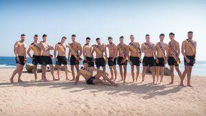 Hartes Wüsten-Camp: Das muss ein Mister Germany können!