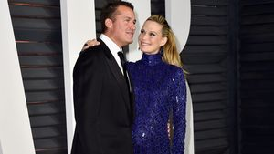 Molly Sims: Mit üppiger Baby-Disco-Kugel zur Party