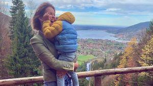 Monica Ivancan teilt seltenes Kuschel-Pic mit ihrem Sohn!