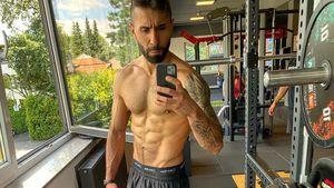 Oh, là, là! Rapper MoTrip zeigt seine knackigen Bauchmuskeln