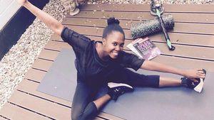 Motsi Mabuse nach ihrem Work-out