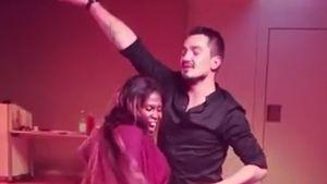 Mit XL-Kugel: Motsi Mabuse & Evgenij tanzen leidenschaftlich
