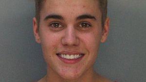 Mugshot von Justin Bieber