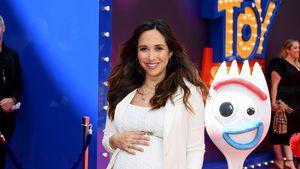 """Bald-Mama Myleene Klass kugelrund auf """"Toy Story 4""""-Premiere"""