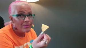 Auszeit vom Kilo-Kampf: Nadine Zucker gönnt sich Käse-Nachos
